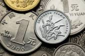 Coins of China — Stockfoto