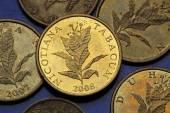 Coins of Croatia — Foto de Stock
