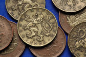 Coins of the Czech Republic — Stock Photo