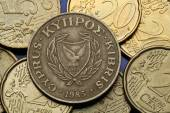Coins of Cyprus — Stock Photo