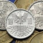 Coins of Austria — Stock Photo #54962357