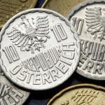 Coins of Austria — Stock Photo #54962361