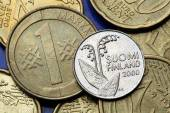 Coins of Finland — Stockfoto