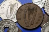 Coins of Ireland — Stock Photo
