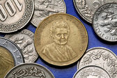 Coins of Italy — Stock Photo