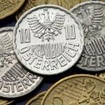 Coins of Austria — Stock Photo #55356245