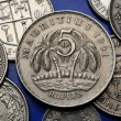 Coins of Mauritius — Stock Photo #55356277