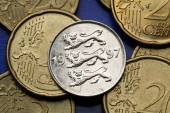 Coins of Estonia — Stock Photo