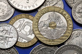 Coins of France — Stockfoto