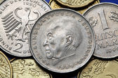 Coins of Germany — Stock Photo