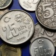 Coins of Turkey — Stock Photo #58854985