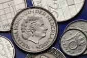 Coins of the Netherlands  — Stock Photo