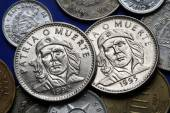 Coins of Cuba. Ernesto Che Guevara — Stock Photo