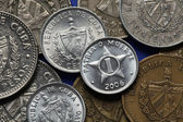 Coins of Cuba — Stock Photo