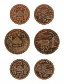 Nepalese Coins — Stock Photo