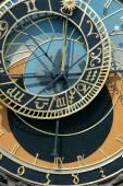 Prague Astronomical Clock  — Stock Photo
