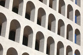 Square Colosseum in the EUR District — Stock Photo