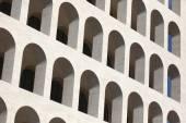 Square Colosseum in the EUR District — Stockfoto