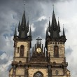 Tyn Church in Old Town Square . — Stock Photo #62769931