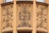 Ornamental decoration on building — Stock Photo
