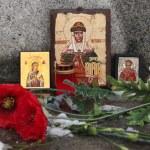 Russian orthodox icons — Stock Photo #63398849