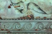 Bronze ornamental pattern.  — Stock Photo