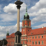 Постер, плакат: King Sigismund Column and Royal Castle in Warsaw