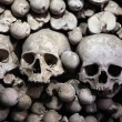 Human bones and skulls in Sedlec Ossuary near Kutna Hora. — Stock Photo #63558217