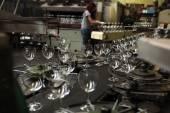 Bohemian glass factory — Stock Photo