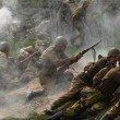 Re-enactment of WWII Battle, Orechov — Stock Photo #64224651