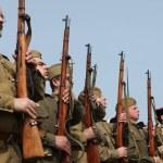 ������, ������: Re enactment of WWII Battle Orechov