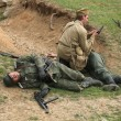 Постер, плакат: Re enactment of WWII Battle Orechov