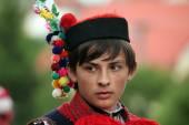 Kings folklore festival in Vlcnov — Stock Photo
