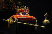 Bohemian Crown Jewels in Prague — Stock Photo