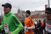 Marathon in Prague — Stock Photo