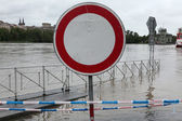 Floods in Prague, Czech Republic — Zdjęcie stockowe