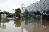 Floods in Prague, Czech Republic — Stock Photo