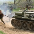 ������, ������: Re enactment of WWII Battle at Orechov