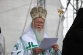 Patriarch Bartholomew I of Constantinople — Stockfoto