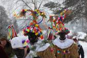 Ceremonial Shrovetide procession, Czech Republic — Stock Photo