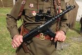 Soviet military decoration on the uniform  — Stock Photo
