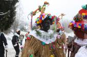 Masopust Carnival. Ceremonial Shrovetide procession — Stock Photo