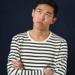 Frustrated young Asian man — Stock Photo #69697743