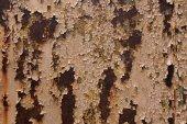 Vieja pared del metal — Foto de Stock