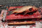 Fresh killed carp — Stock Photo