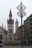 Altes Rathaus at Marienplatz — Stock Photo
