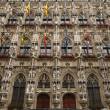 Gothic Town Hall in Leuven, Belgium. — Stock Photo #70916055