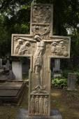 Grave of Prince Sergey Galitzine in Prague — Stock Photo