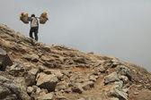 Sulphur mines Kawah Ijen in East Java — Stock Photo