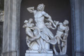 Hellenistic marble statue Laocoon and his sons — Stock Photo